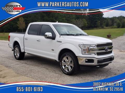 2018 Ford F-150 for sale at Parker's Used Cars in Blenheim SC