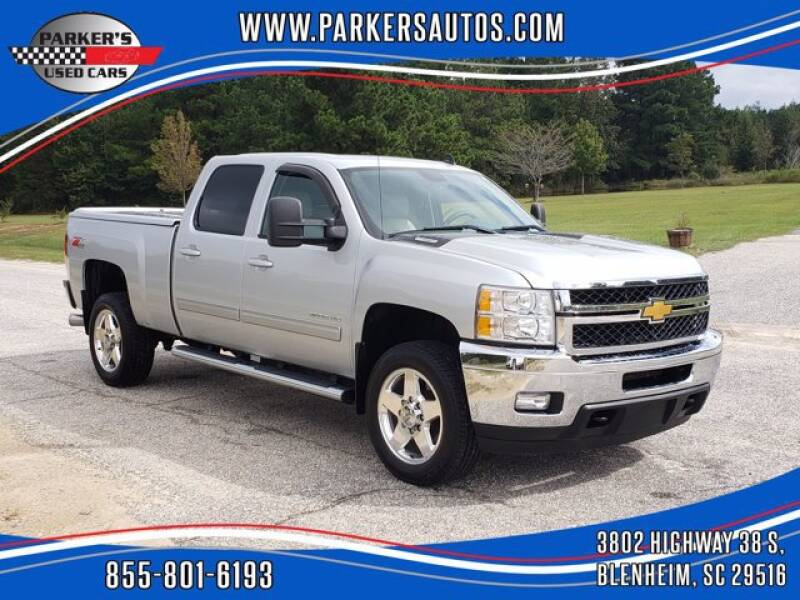 2013 Chevrolet Silverado 2500HD for sale at Parker's Used Cars in Blenheim SC