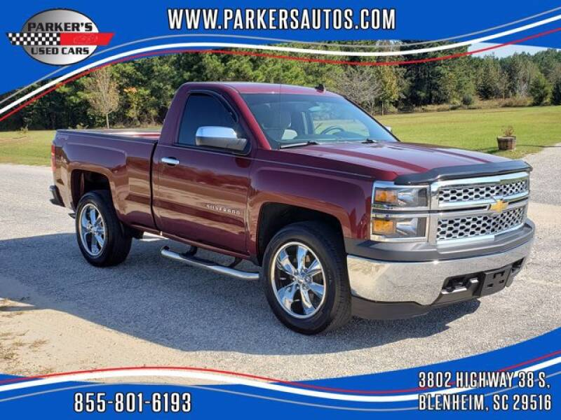 2014 Chevrolet Silverado 1500 for sale at Parker's Used Cars in Blenheim SC