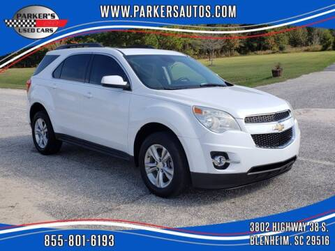 2013 Chevrolet Equinox for sale at Parker's Used Cars in Blenheim SC