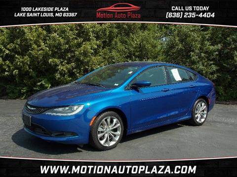 2015 Chrysler 200 for sale in Lake Saint Louis, MO
