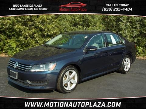 2012 Volkswagen Passat for sale in Lake Saint Louis, MO