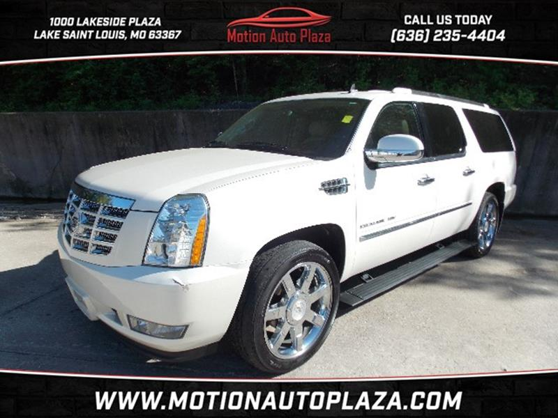 2010 Cadillac Escalade ESV for sale at Motion Auto Plaza in Lake Saint Louis MO