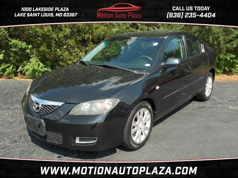 2007 Mazda MAZDA3 For Sale At Motion Auto Plaza In Lake Saint Louis MO