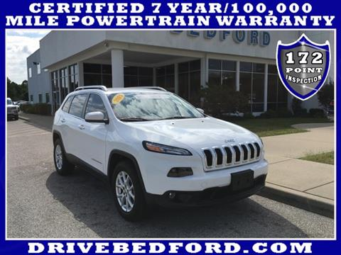 2014 Jeep Cherokee for sale in Bedford IN