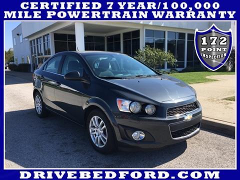 2014 Chevrolet Sonic for sale in Bedford IN