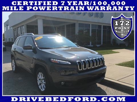 2015 Jeep Cherokee for sale in Bedford IN