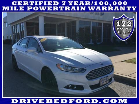2016 Ford Fusion for sale in Bedford IN
