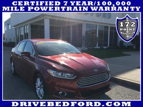 2015 Ford Fusion for sale in Bedford IN
