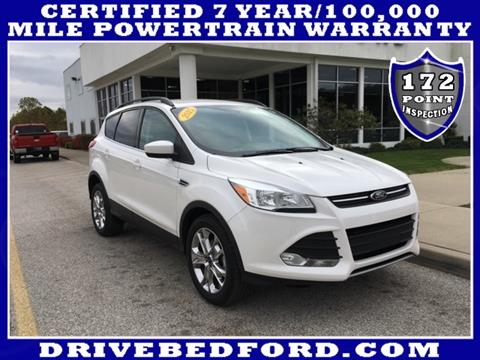 2015 Ford Escape for sale in Bedford, IN