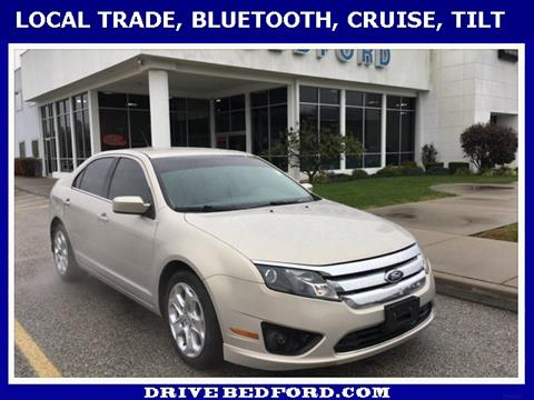 2010 Ford Fusion for sale in Bedford IN