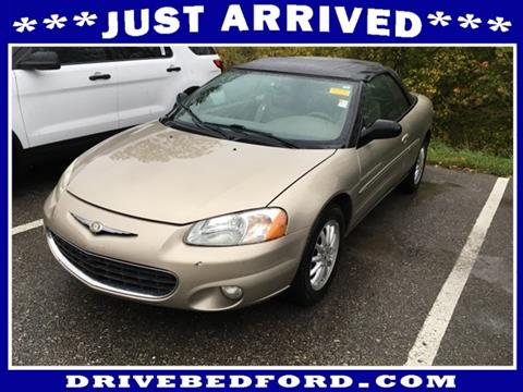 Chrysler Sebring For Sale  Carsforsalecom