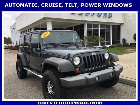 2007 Jeep Wrangler Unlimited for sale in Bedford IN