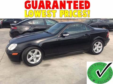 2003 Mercedes-Benz SLK for sale in Perris, CA