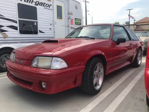 1988 Ford Mustang for sale in Perris, CA