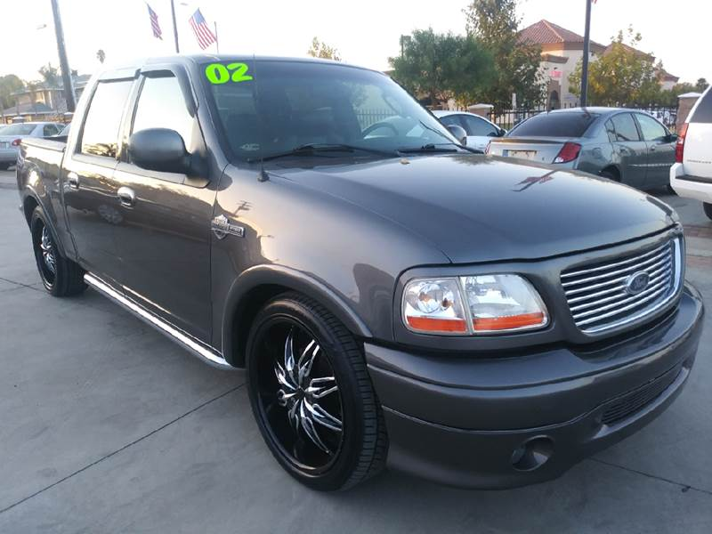 2002 Ford F-150 Harley-Davidson In Perris CA - Villa Trade Used Car