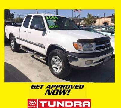 2000 Toyota Tundra for sale in Perris, CA