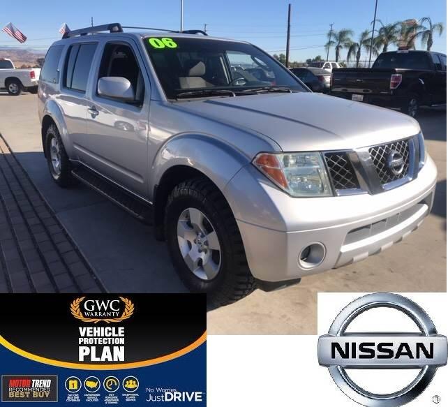 2006 Nissan Pathfinder SE In Perris CA - Villa Trade Used Car Dealer