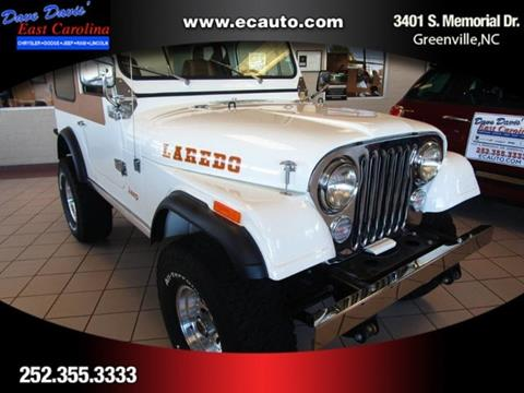 1981 Jeep CJ-7 for sale in Greenville, NC