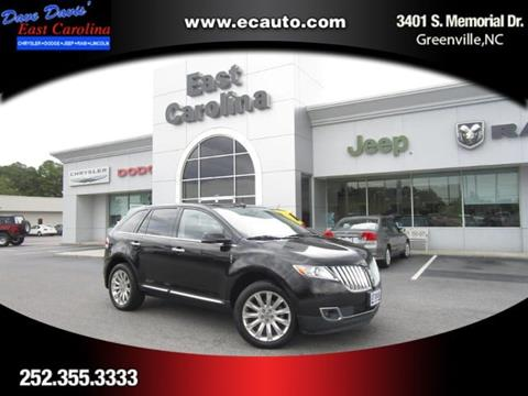 2013 Lincoln MKX for sale in Greenville, NC