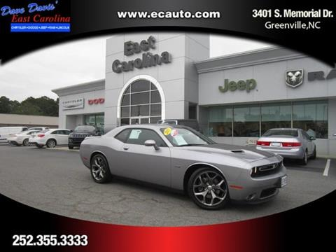 2015 Dodge Challenger for sale in Greenville NC