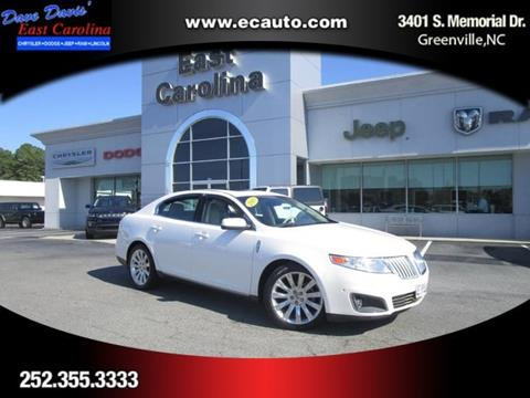 2010 Lincoln MKS for sale in Greenville, NC