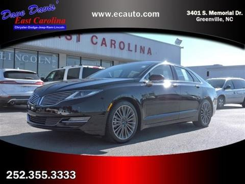 2016 Lincoln MKZ Hybrid for sale in Greenville NC