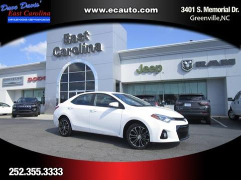 2016 Toyota Corolla for sale in Greenville, NC