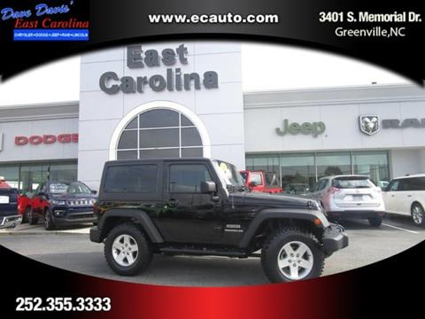 2014 Jeep Wrangler for sale in Greenville, NC