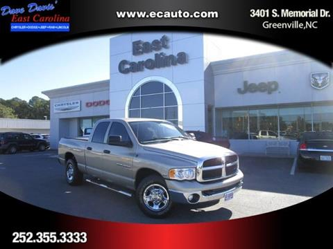 2004 Dodge Ram Pickup 2500 for sale in Greenville, NC