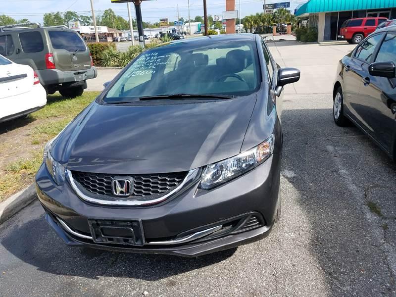 2014 Honda Civic For Sale At Jayu0027s Cars In Orange Park FL