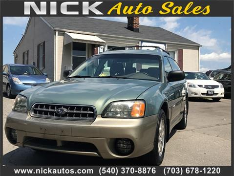 2004 Subaru Outback for sale in Fredericksburg, VA