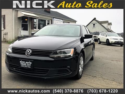 2011 Volkswagen Jetta for sale in Fredericksburg, VA