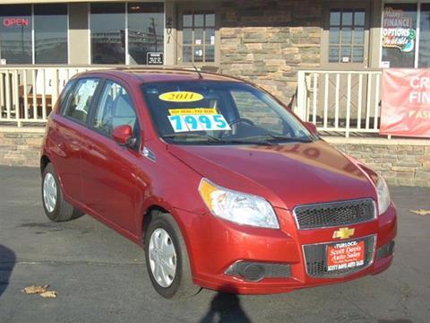 2011 Chevrolet Aveo for sale in Turlock CA
