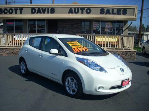 2012 Nissan LEAF for sale in Turlock CA