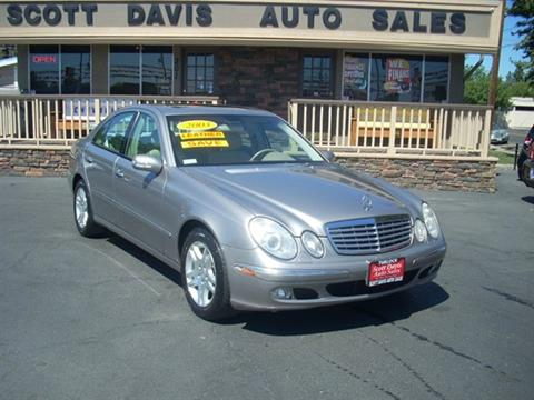 2003 Mercedes-Benz E-Class for sale in Turlock CA