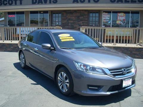 2013 Honda Accord for sale in Turlock CA