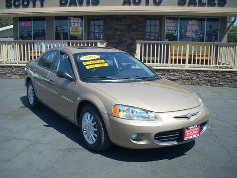 2002 Chrysler Sebring for sale in Turlock CA