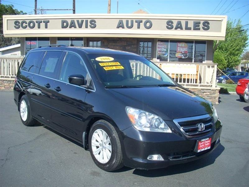 Amazing 2006 Honda Odyssey For Sale At Scott Davis Auto Sales In Turlock CA