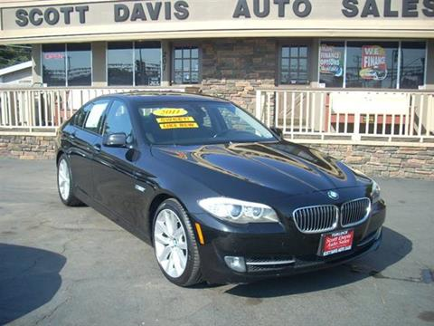 2011 BMW 5 Series for sale in Turlock CA