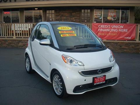 2013 Smart fortwo electric drive for sale in Turlock, CA