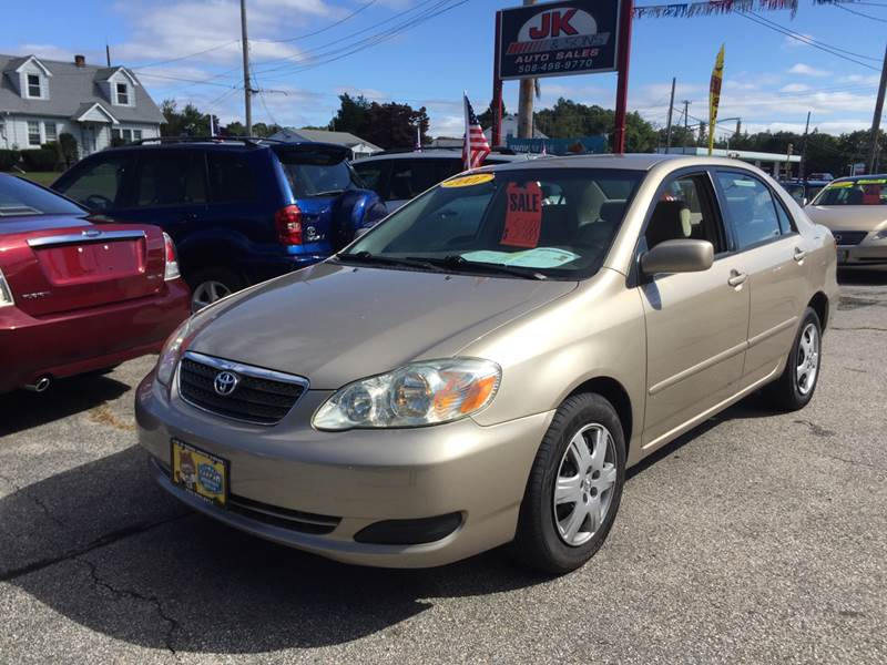 2007 Toyota Corolla For Sale At JK U0026 Sons Auto Sales In Westport MA