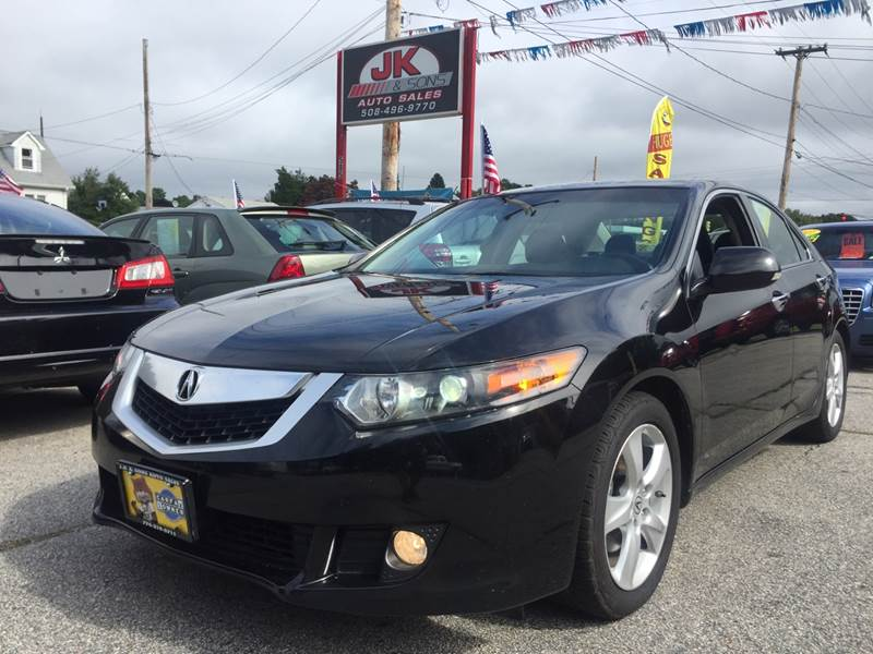 Acura TSX WTech In Westport MA JK Sons Auto Sales - Acura tsx for sale in ma