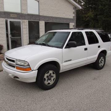 2002 Chevrolet Blazer for sale at Anytime Auto - Sale Cars in Muskegon MI