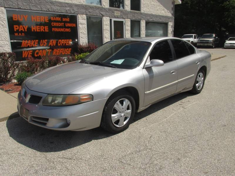 2004 Pontiac Bonneville for sale at Anytime Auto - Sale Cars in Muskegon MI