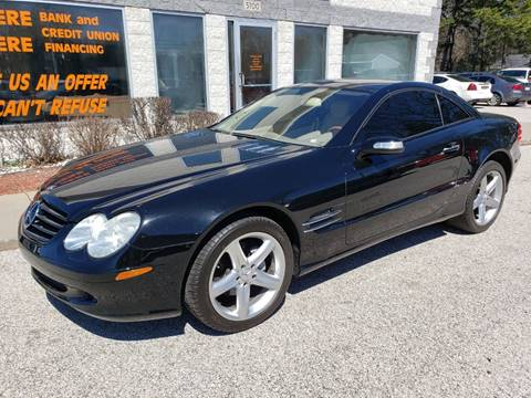 2005 Mercedes-Benz SL-Class SL 500 for sale at Anytime Auto in Muskegon MI