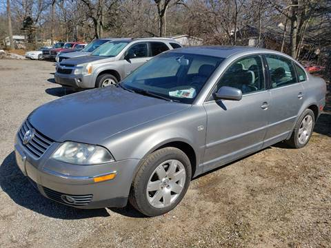 2002 Volkswagen Passat GLX for sale at Anytime Auto - Fixer Uppers in Muskegon MI