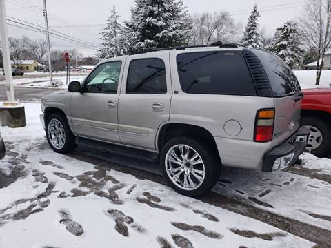 2004 Chevrolet Tahoe LT for sale at Anytime Auto in Muskegon MI