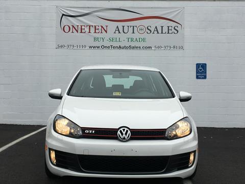 2010 Volkswagen GTI for sale in Fredericksburg, VA