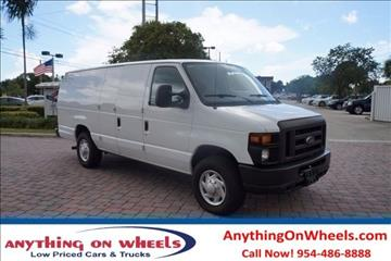 2011 Ford E-Series Cargo for sale at Anything On Wheels in Oakland Park FL